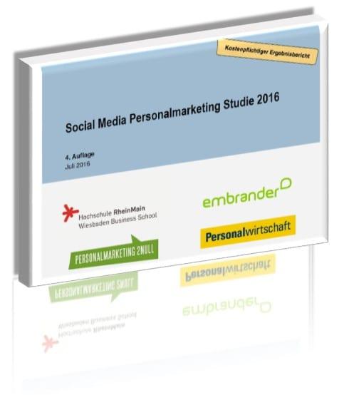 Social Media Personalmarketing Studie 2016 - Download