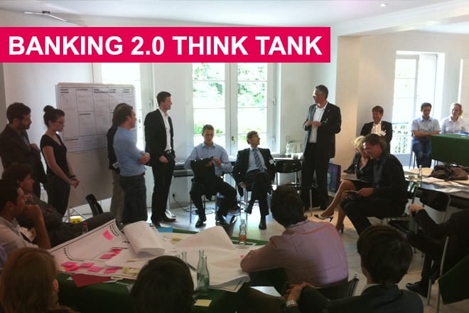 Eindrücke vom Banking 2.0 Think Tank - Quelle: Young Targets