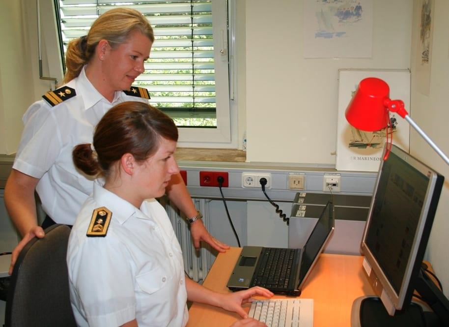 Das Team von Bundeswehr Karriere bei der Arbeit