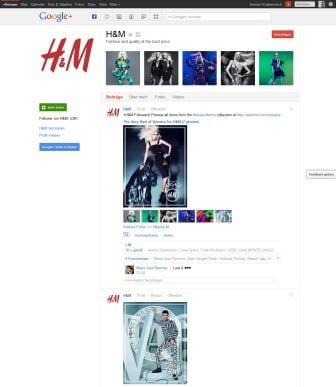Laaangweilig - Unternehmensprofil von H&M auf Google+