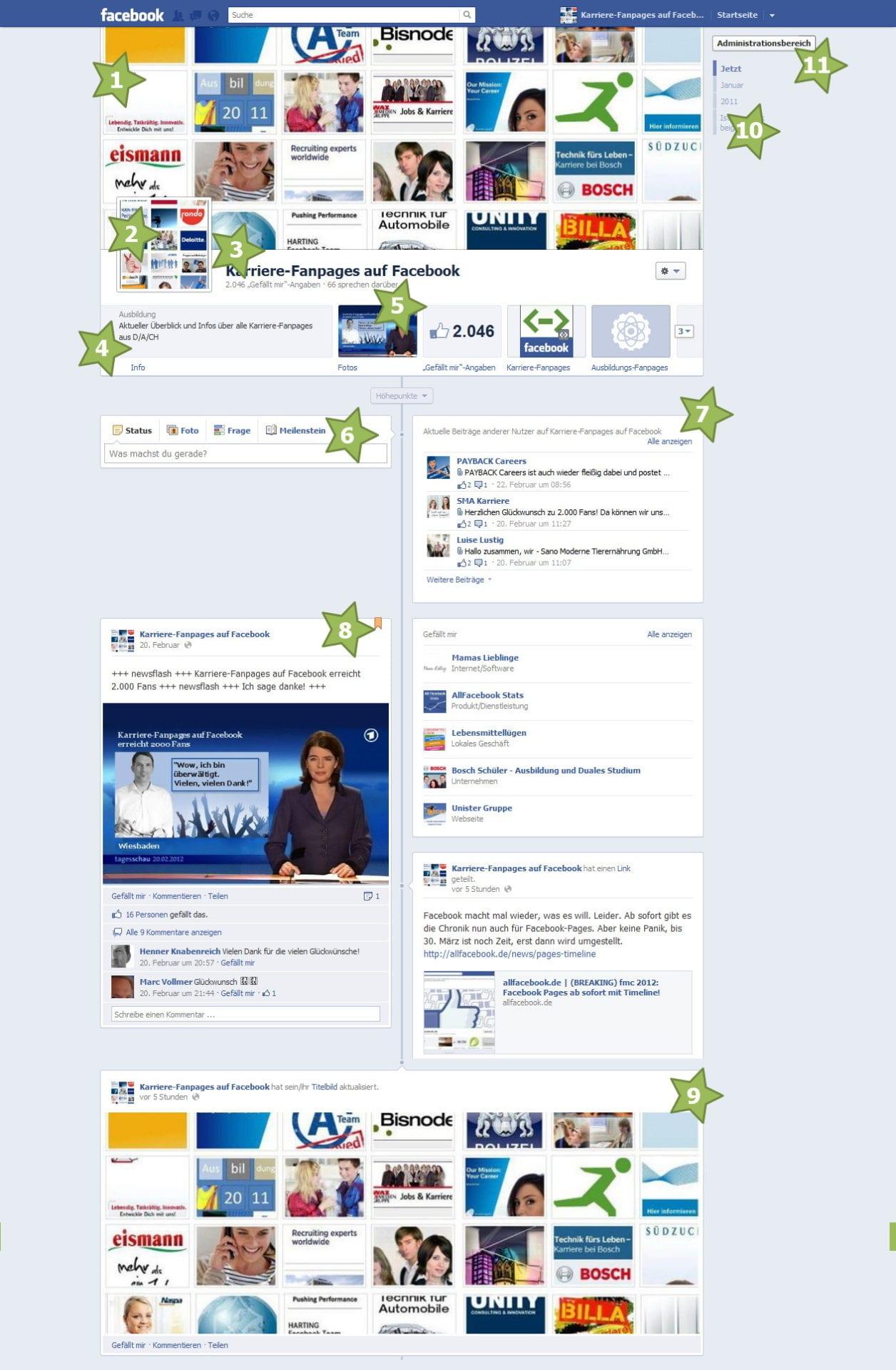 Die neuen Features für Facebook Unternehmensseiten