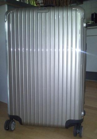 Der Koffer ist gepackt ...