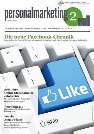 Zeitschrift personalmarketing2null - aktuelles Praxiswissen to go