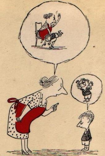 Wie sag ichs meinen Kindern - Cover des Bildbandes von Sempé