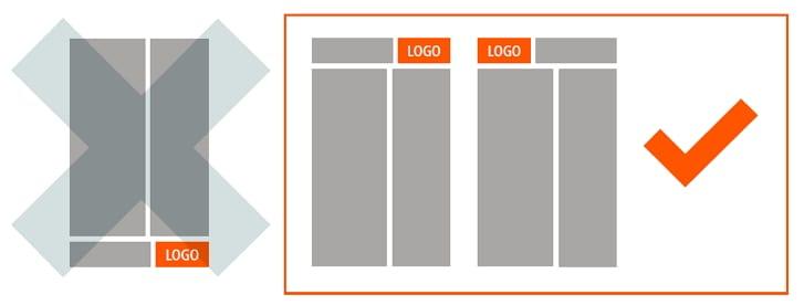 Jobware Eyetracking Studie Online-Stellenanzeigen - Platzierung des Logos idealerweise immer oben am Kopf der Stellenanzeige