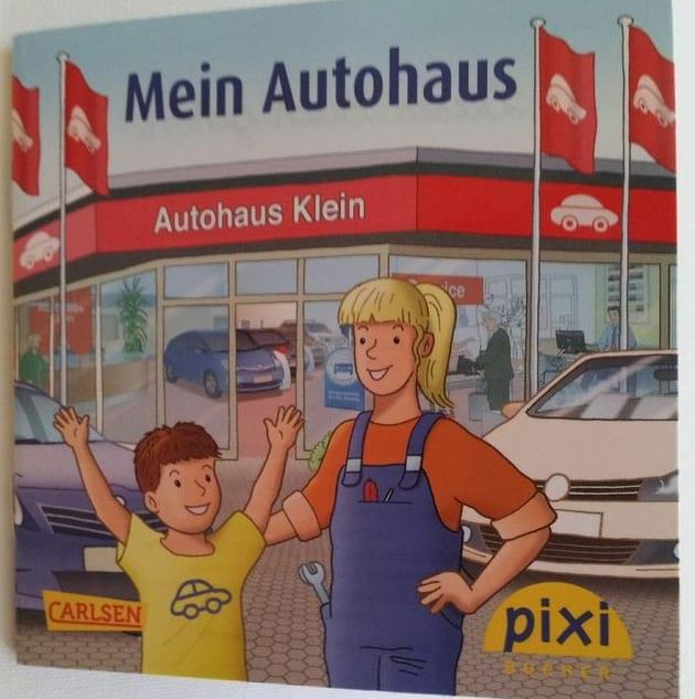 Ausbildungmarketing mit pixi-Buch - man kann gar nicht früh genug anfangen