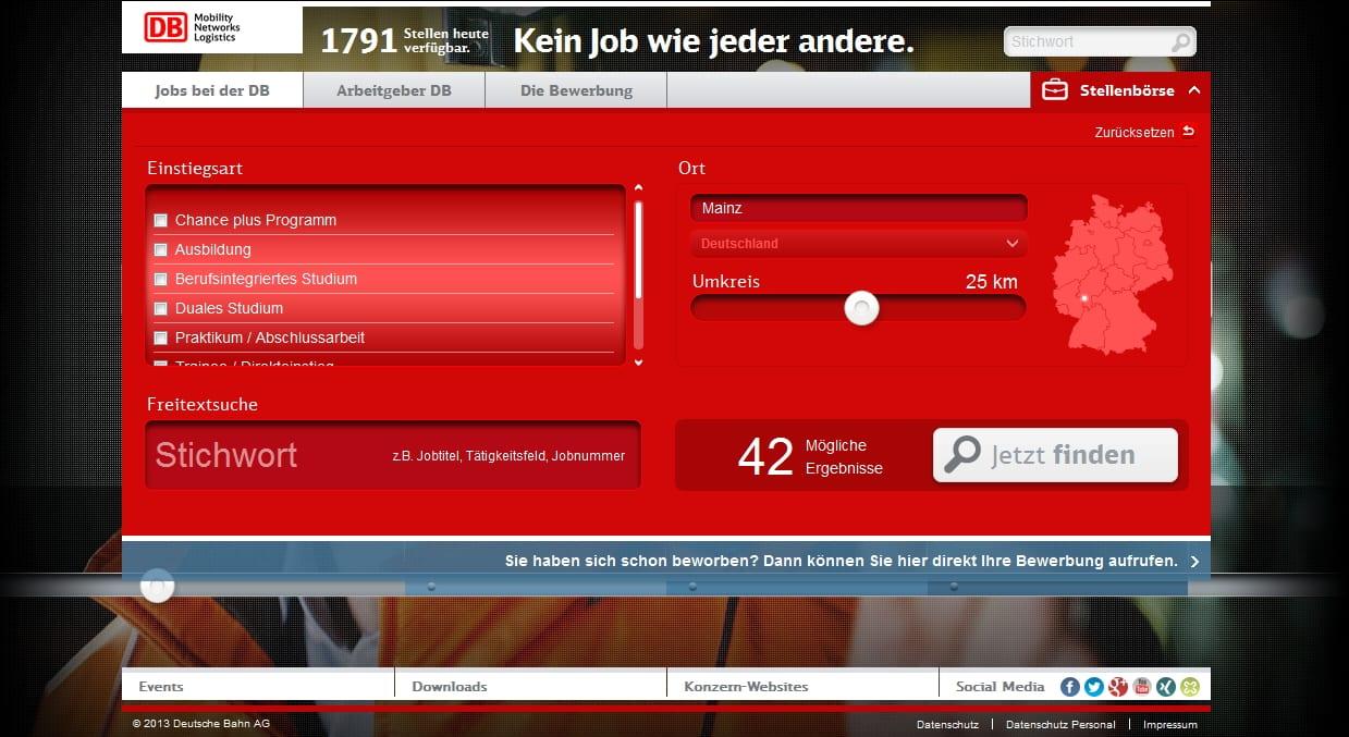 Jobs in Mainz ? Fehlanzeige!