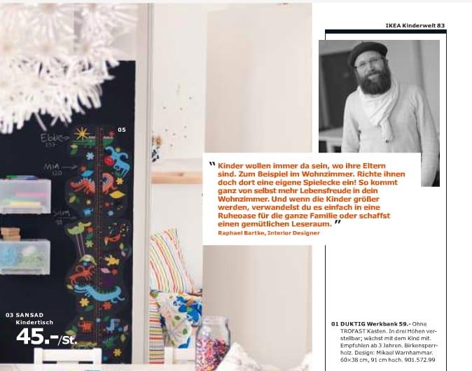 Ikea Katalog 2013 blumenmuster bettwäsche