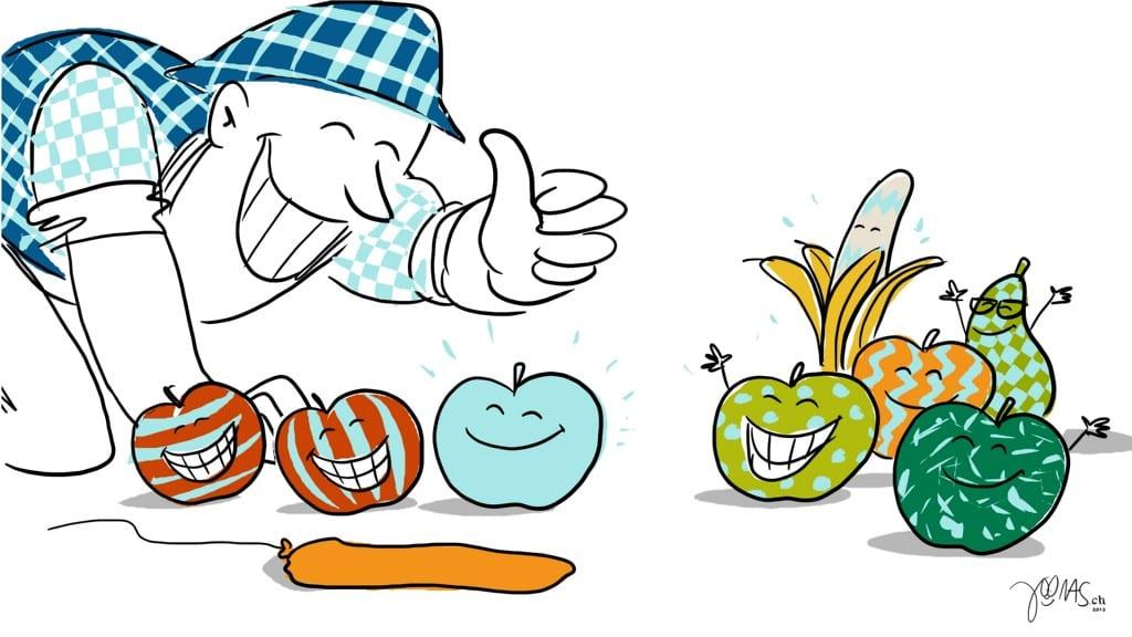 Frechmut-Essenzen - Tun = Beteiligte zu Verbündeten zu Verbündeten machen