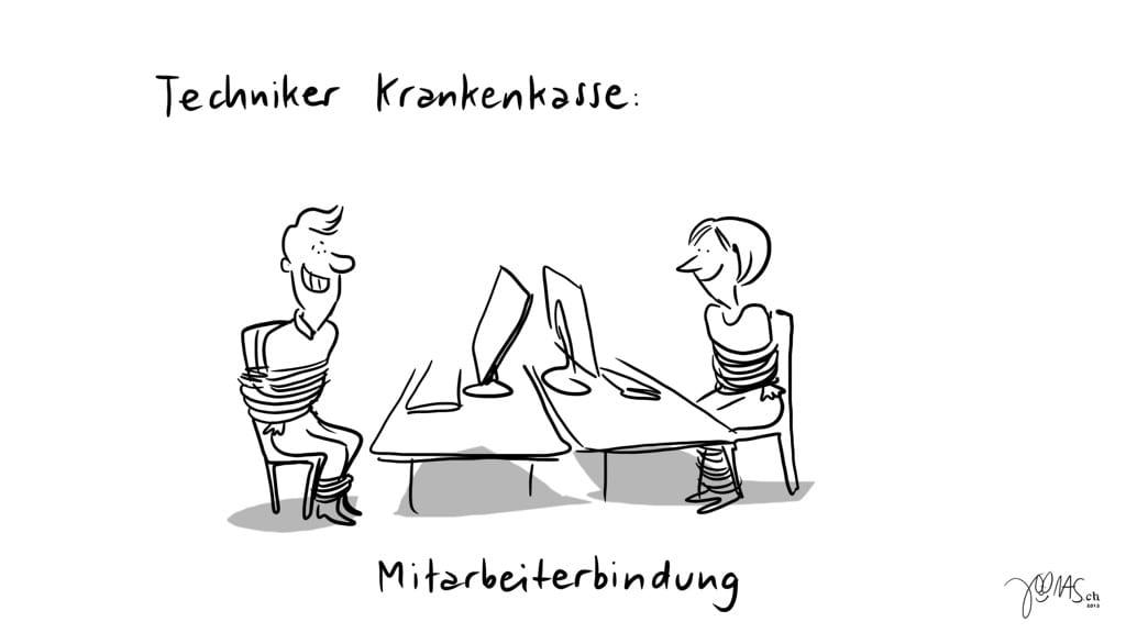 Frechmut - TK- Mitarbeiterbindung