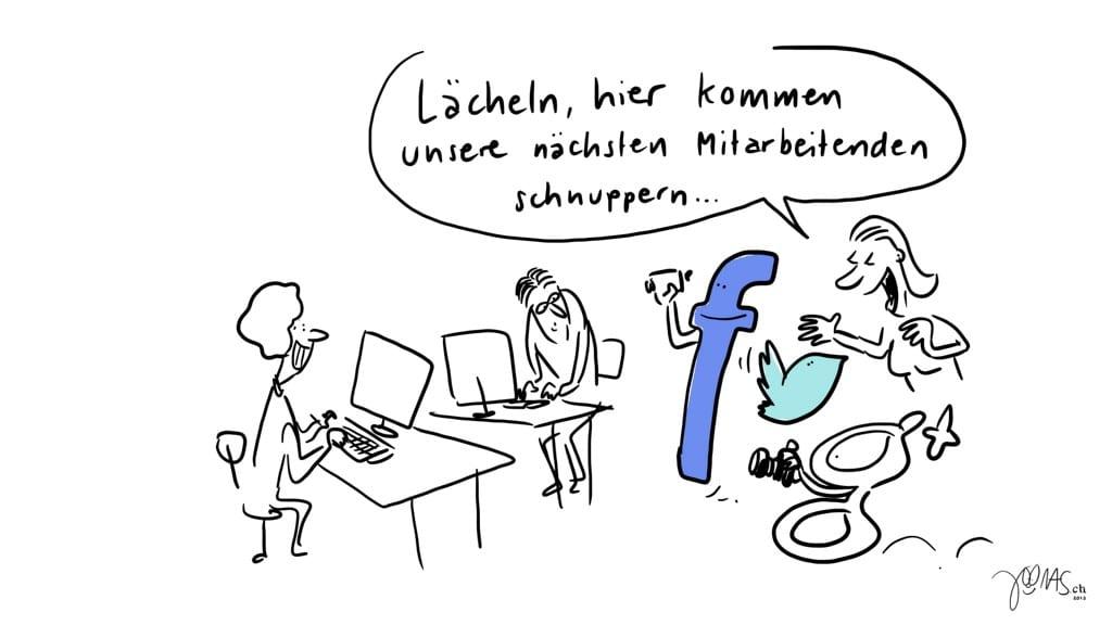 Social Media - authentischer Content - Facebookseite