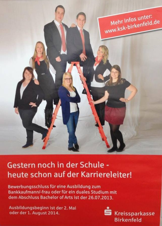 KSK_Birkenfeld - Kategorie abschreckendste Stellenanzeige