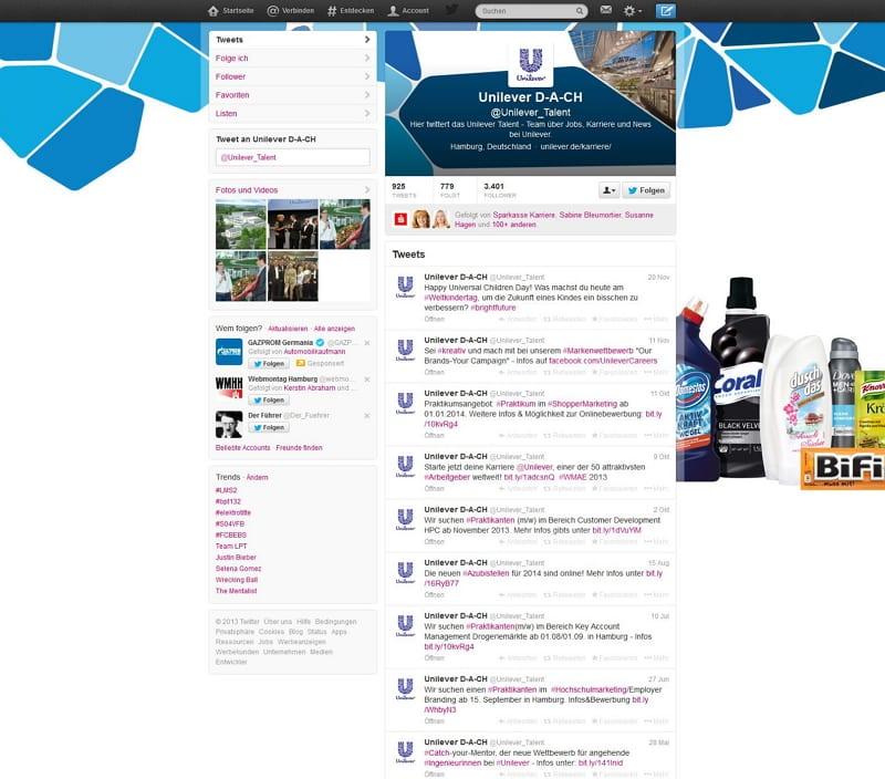 Unilever DACH - Goldene Runkelrübe Social Media