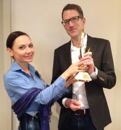 Verleihung des HR Excellene Award für den HR-Blog des Jahres