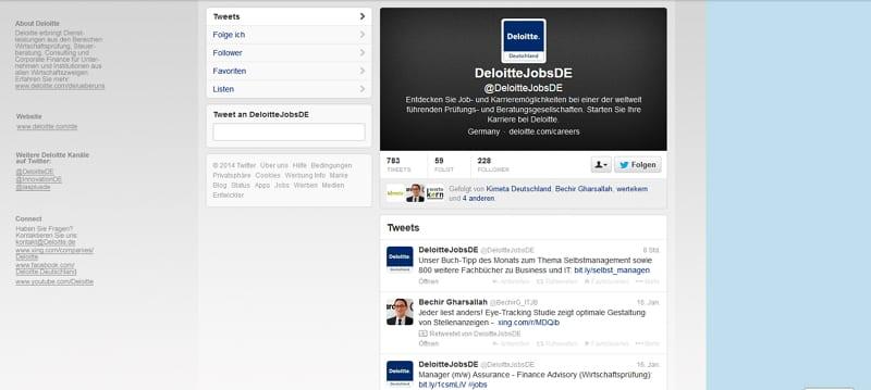 Deloitte Jobs - laaaaaaangweilig....