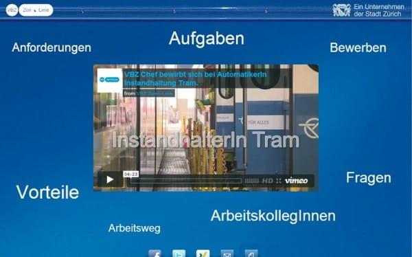 Stellenanzeige 2.0 powered by Prospective - alte Version