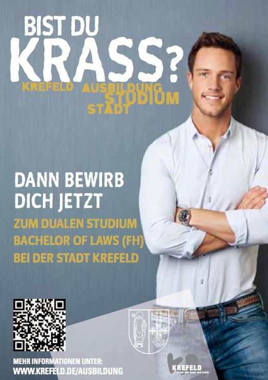 Bist du krass - Ausbildungsmarketing bei der Stadt Krefeld