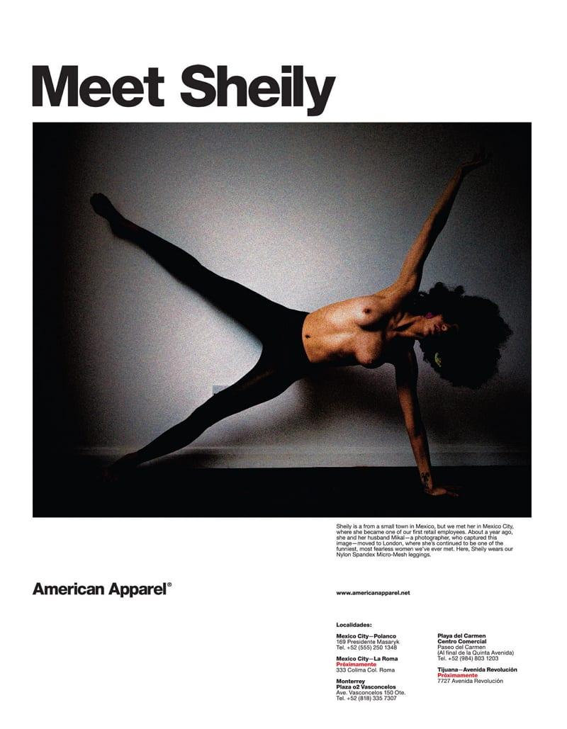 Employer Branding Best Practice - Meet Sheily - Markenbotschafter bei American Apparel