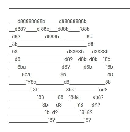 Herz Ascii Code