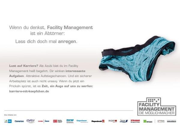 Kampagnenmotiv Facility Management - Die Möglichmacher