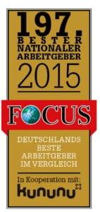 197. Bester Nationaler Arbeitgeber 2015