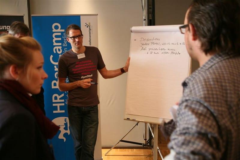 Session auf dem HR Barcamp - Fotograf: Janek Coppenhagen