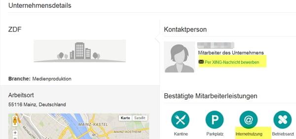 Online bewerben über Xing doch möglich? - ZDF sucht Corporate Social Media Manager
