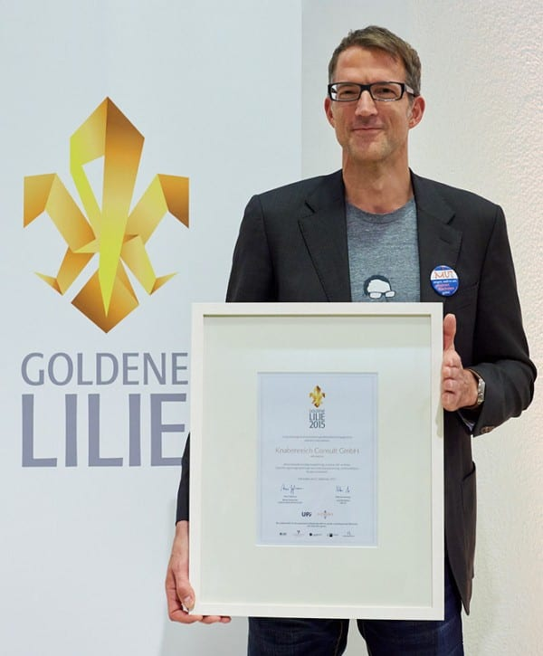 Preisträger Goldene Lilie 2015 - Foto: Sibylla Eisen