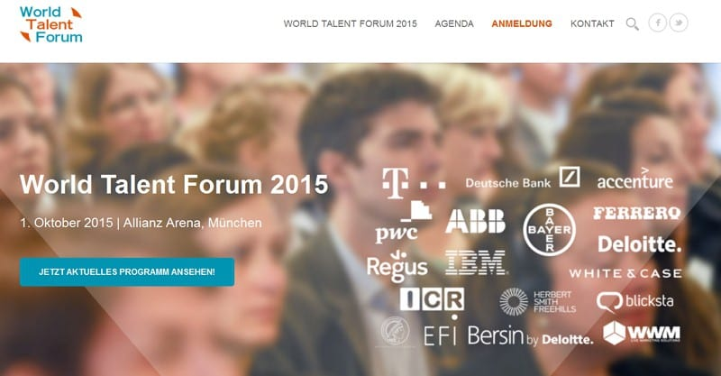 intraworlds - World Talent Forum 2015