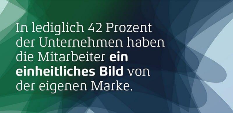 Mitarbeiter haben kaum ein einheitliches Bild der eigenen Marke - Screenshot Deutscher Markenmonitor