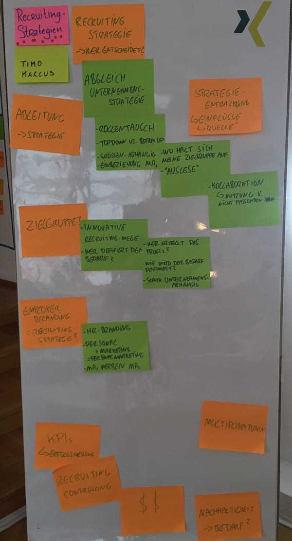 XING Barcamp Frankfurt - Recruitingstrategien