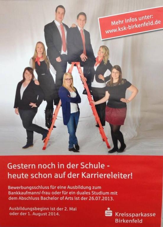 Kreissparkasse Birkenfeld verstörte mit nicht AGG-konformer Stellenanzeige