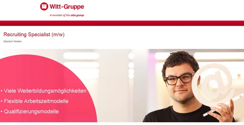 Witt Gruppe sucht Recruiting Specialist