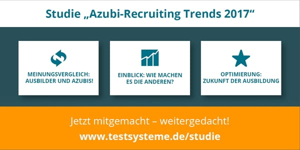 Studie Azubi-Recruiting Trends 2017