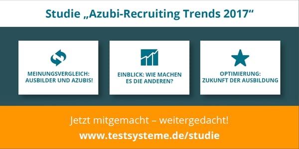 Studie Azubi-Recruiting Trends 2017