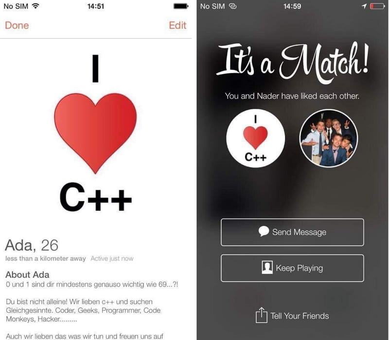 Content Marketing _Active Sourcing via Tinder
