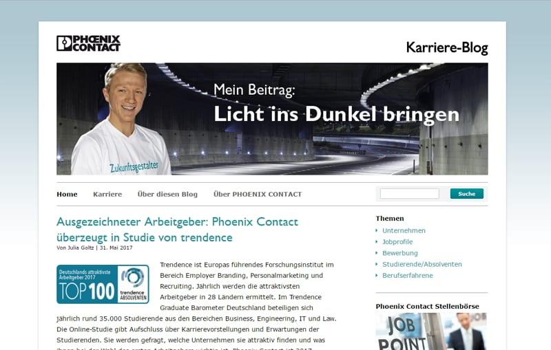 Content Marketing via Mitarbeiter-Blog_ erfolgreicher Recruiting-Kanal für Ingenieure bei Phoenix Contact