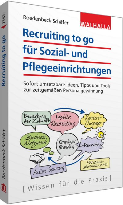 Recruiting to go - Das Buch von Maja Schäfer über Personalgewinnung in der Pflege