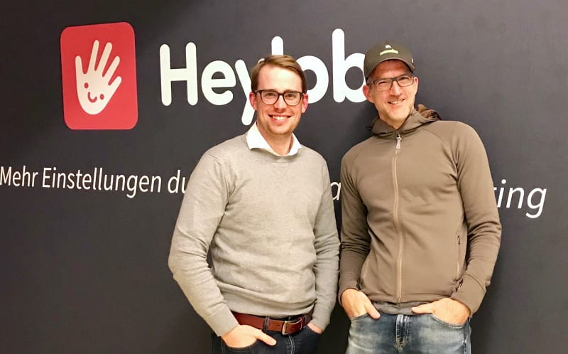 Der Autor zu Gast bei Marius Luther von HeyJobs