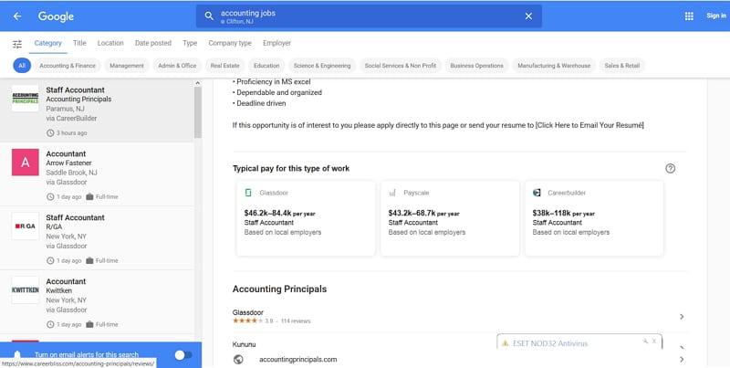 Google Jobs mit neuen Features