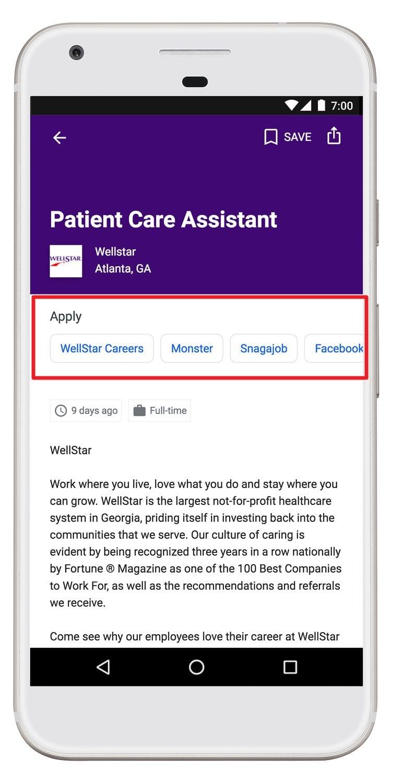 Neue Bewerbungsmöglichkeiten bei Google Jobs