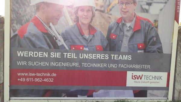 Wir suchen Techniker, haben aber nichts zu bieten