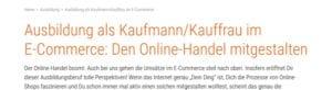 Kaufmann und Kauffrau