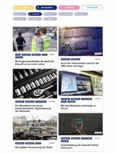 Auf den Karriereseiten der VBZ gibt es jede Menge hilfreiche Infos über die Berufswelten