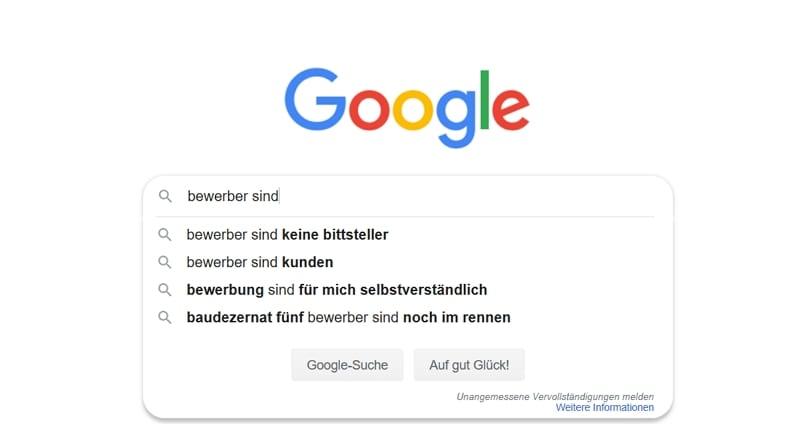 Bewerber sind keine Bittsteller, Bewerber sind Kunden - Quelle Google