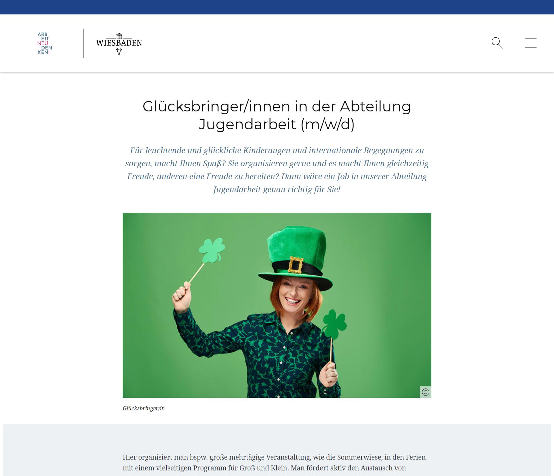 Rock die Verwaltung: Wie die Stadt Wiesbaden den Fachkräftemangel rocken will