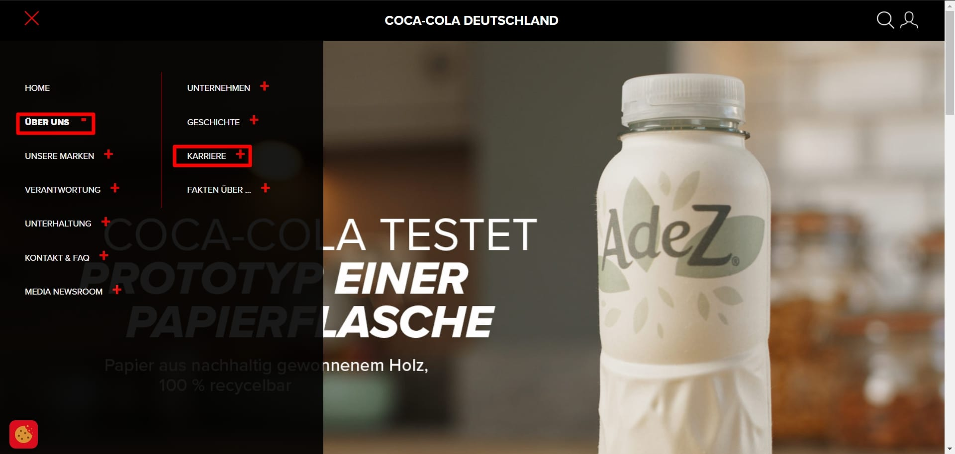 Bewerben bei Coca-Cola? Dank schlechter Auffindbarkeit kaum möglich