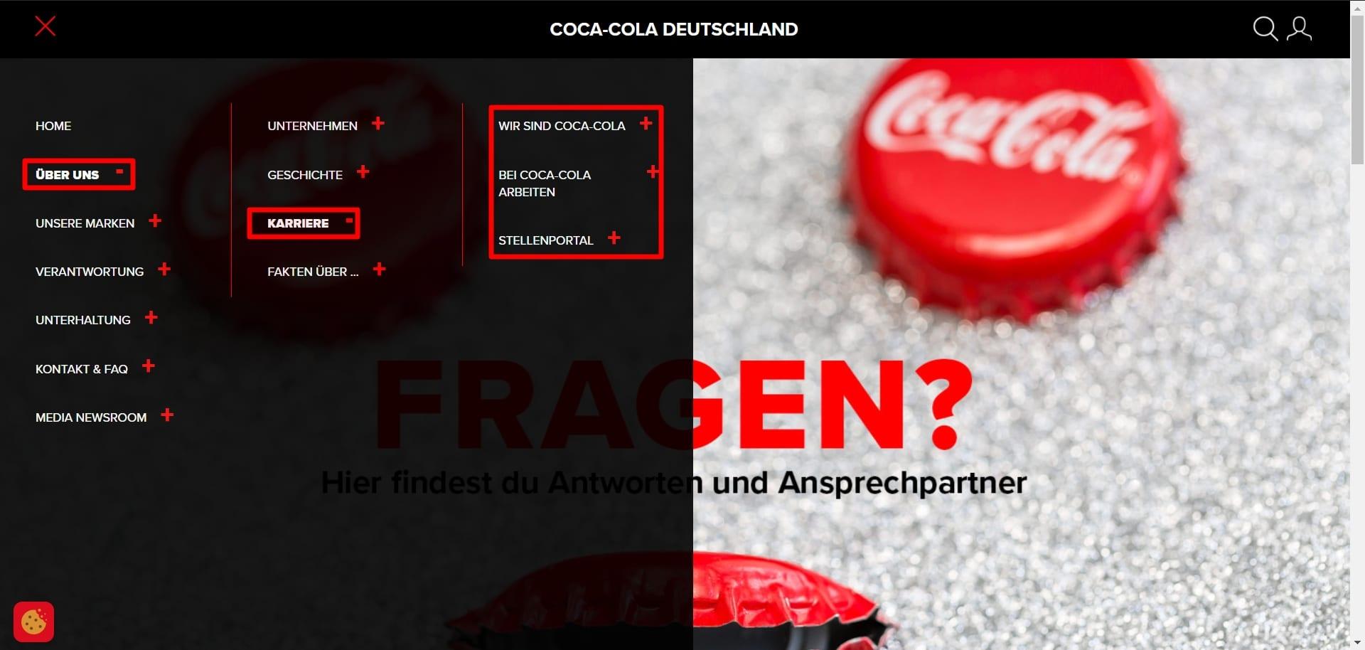 Coca-Cola beherrscht auch Baustein 3 der perfekten Bewerbervermeidungsstrategie