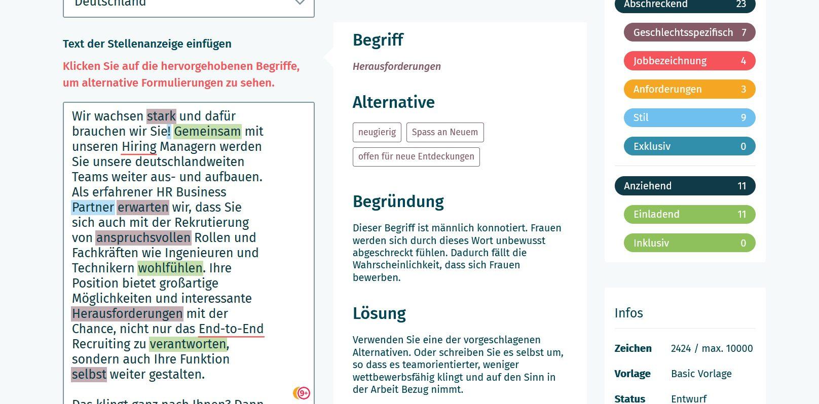 """Gendergerechte Stellenanzeigen: Wie eine """"geschlechtsneutrale"""" Bewerberansprache gelingen kann"""